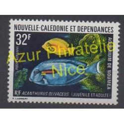 Nouvelle-Calédonie - Poste aérienne - 1973 - No PA145 - Poissons