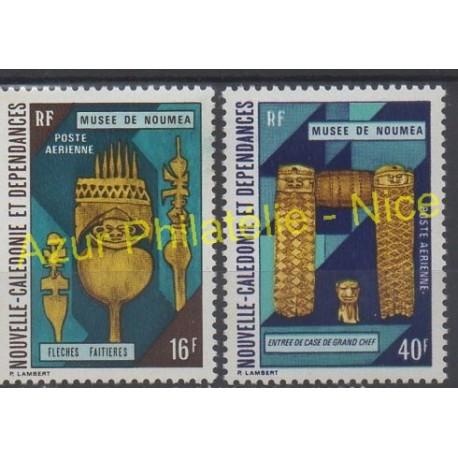 New Caledonia - Airmail - 1973 - Nb PA142/PA143 - Art