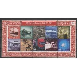 Nouvelle-Zélande - 2000 - No 1808/1817 - Service postal