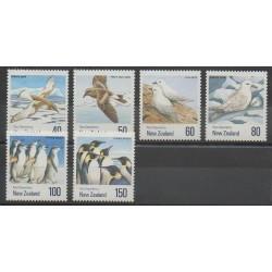 Nouvelle-Zélande - 1990 - No 1088/1093 - Oiseaux