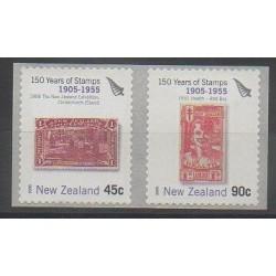 Nouvelle-Zélande - 2005 - No 2152/2153 - Timbres sur timbres