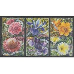 Nouvelle-Zélande - 2001 - No 1824/1829 - Fleurs