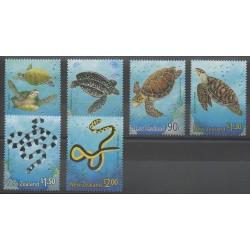 Nouvelle-Zélande - 2001 - No 1818/1823 - Reptiles