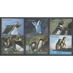 New Zealand - 2001 - Nb 1877/1882 - Birds