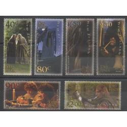 Nouvelle-Zélande - 2001 - No 1883/1888 - Cinéma