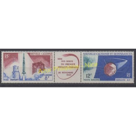 Nouvelle-Calédonie - Poste aérienne - 1966 - No PA85A - Espace