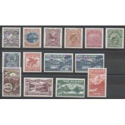 New Zealand - 1998 - Nb 1606/1619 - Sights - Philately