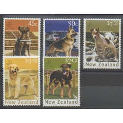 New Zealand - 2006 - Nb 2216/2220 - Dogs