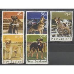 Nouvelle-Zélande - 2006 - No 2216/2220 - Chiens