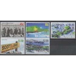 Nouvelle-Zélande - 2007 - No 2292/2296 - Polaire
