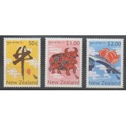 New Zealand - 2009 - Nb 2462/2464 - Horoscope