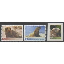 Nouvelle-Zélande - 2012 - No 2838/2840 - Mammifères - Animaux marins