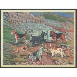 Sierra Leone - 2000 - Nb 3079/3084 - Dogs