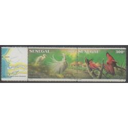 Sénégal - 1987 - No 726/727 - Oiseaux