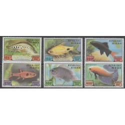 Bénin - 1999 - No 902/907 - Animaux marins