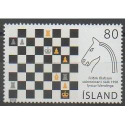 Islande - 2008 - No 1138 - Échecs