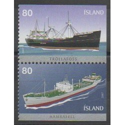 Islande - 2007 - No 1085/1086 - Navigation