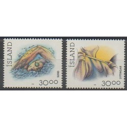 Iceland - 1994 - Nb 751/752 - Various sports