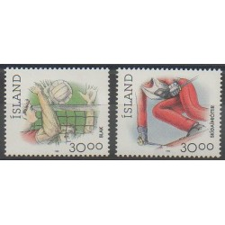 Islande - 1992 - No 713/714 - Sports divers