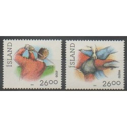 Islande - 1991 - No 702/703 - Sports divers