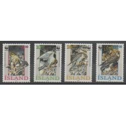 Islande - 1992 - No 729/732 - Oiseaux
