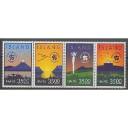 Islande - 1995 - No 773/776 - Sports divers