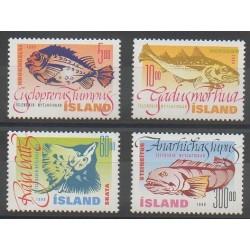 Islande - 1998 - No 841/844 - Animaux marins