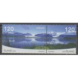 Islande - 2009 - No 1176/1177 - Sites