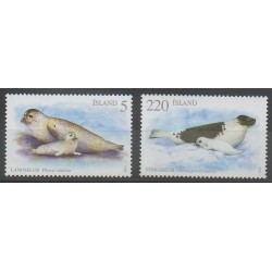 Islande - 2010 - No 1188/1189 - Mammifères - Animaux marins
