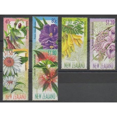 Nouvelle-Zélande - 1999 - No 1674/1679 - Fleurs
