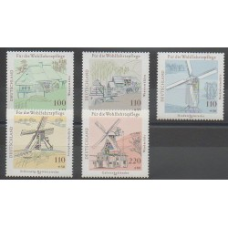 Allemagne - 1997 - No 1780/1784 - Monuments