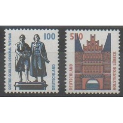 Allemagne - 1997 - No 1771/1772 - Monuments