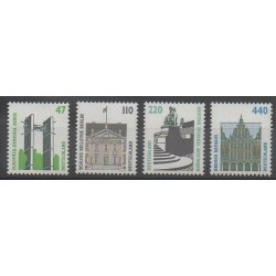 Germany - 1997 - Nb 1764 - 1766/1768 - Monuments