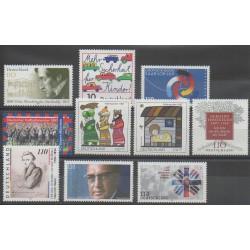 Allemagne - 1997 - No 1785/1786 - 1789/1796