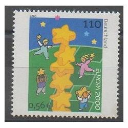 Germany - 2000 - Nb 1945 - Europa