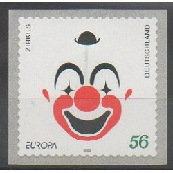 Germany - 2002 - Nb 2100 - Circus - Europa