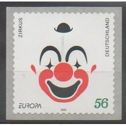 Allemagne - 2002 - No 2100 - Cirque - Europa