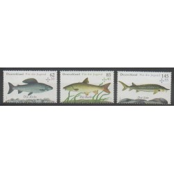 Germany - 2015 - Nb 2976/2978 - Sea animals