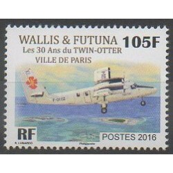 Wallis and Futuna - 2016 - Nb 858 - Planes