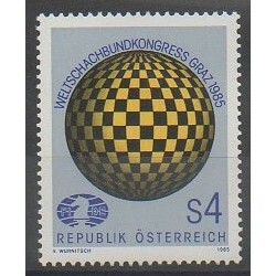 Austria - 1985 - Nb 1652 - Chess