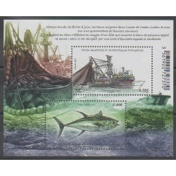 French Southern and Antarctic Lands - Blocks and sheets - 2017 - Nb F805 - Sea animals