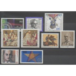 Germany - 1992 - Nb 1468/1476