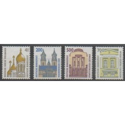 Allemagne - 1993 - No 1493/1496 - Monuments