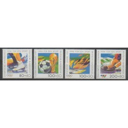 Germany - 1994 - Nb 1545/1548 - Various sports