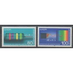 Allemagne - 1994 - No 1561/1562 - Sciences et Techniques - Europa