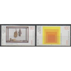 Germany - 1993 - Nb 1504/1505 - Art - Europa
