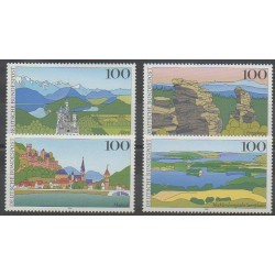 Allemagne - 1994 - No 1572/1575 - Sites
