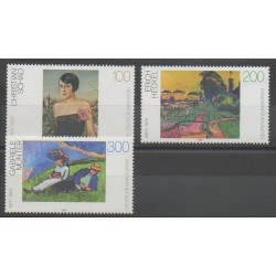 Germany - 1994 - Nb 1578/1580 - Paintings