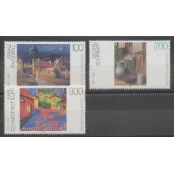 Allemagne - 1995 - No 1606/1608 - Peinture