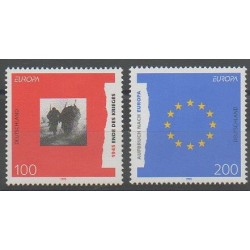 Germany - 1995 - Nb 1622/1623 - Europa